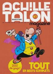 Achille Talon Magazine -1- Achille talon
