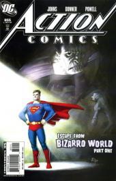 Action Comics (1938) -855- Action comics #855 : escape from bizarro world 1