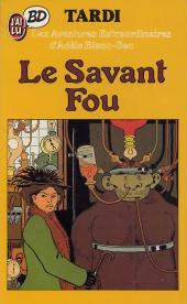 Adèle Blanc-Sec (Les Aventures Extraordinaires d') -3Poch- Le Savant Fou