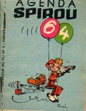 Spirou et Fantasio -2- (Divers) -MR1339- Agenda Spirou 64