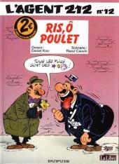 L'agent 212 -122€- Ris, ô poulet