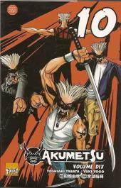 Akumetsu -10- Volume 10