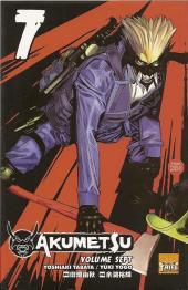 Akumetsu -7- Volume 7