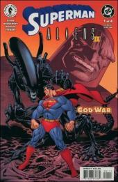 Superman vs Aliens 2: God War (2002) -1- God war part 1