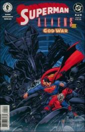 Superman vs Aliens 2: God War (2002) -4- God war part 4