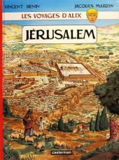 Alix (Les Voyages d') -14a- Jérusalem