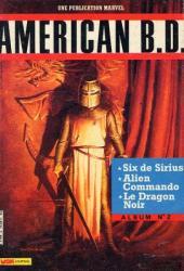 American B.D. -Rec02- Album N°2 (du n°4 au n°6)
