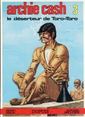Archie Cash -3b84- Le déserteur de Toro-Toro