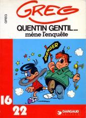 Les as (16/22) -271- Quentin Gentil mène l'enquête