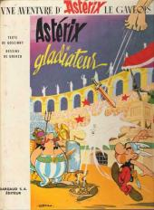 Astérix -4b1965- Astérix Gladiateur