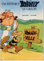 Astérix (Publicitaire) -Romainvill- A Romainville