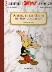 Astérix (Coffret Dargaud) -2- Astérix et les Goth, Astérix gladiateur