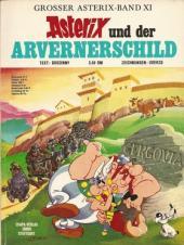 Astérix (en allemand) -11- Asterix und der Arvenerschild