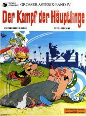 Astérix (en allemand) -7- Der Kampf der Häuptlinge