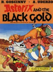 Astérix (en anglais) -26- Asterix and the Black Gold