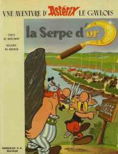 Astérix -2b1966'- La serpe d'or