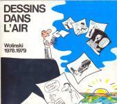 (AUT) Wolinski -1- Dessins dans l'air 78/79