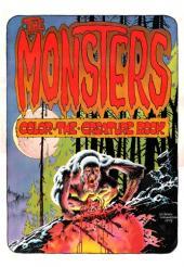 (AUT) Wrightson (en anglais) -1- The monsters - color the creature book