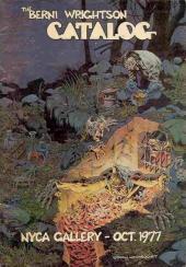 (AUT) Wrightson (en anglais) -4Cat- The Berni Wrightson Catalog - Nyca Gallery - Oct. 1997