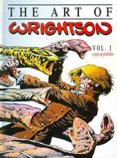 (AUT) Wrightson (en anglais) -3- The art of Wrightson: A Pop-Up Portfolio Vol. 1