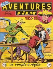 Aventures Film (1re série - Artima) -74- Un compte à régler