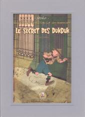 Les aventures de Rotor, C.P. des Hameçons -1- Le secret des Dukduk