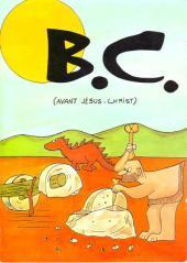 B.C. -1- Avant Jésus-Christ