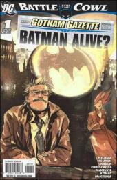 Batman: Battle for the Cowl (2009) -OS- Gotham gazette : Batman alive ?