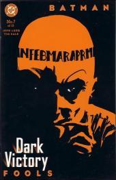 Batman: Dark Victory (1999) -7- Fools