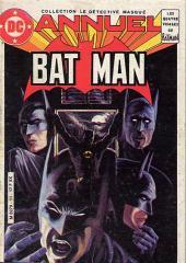 Batman (collection Le Détective masqué) -4- Les quatre visages de Batman
