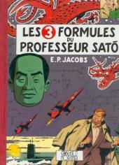 Blake et Mortimer -11a91- Les 3 formules du Professeur Satô - Tome 1