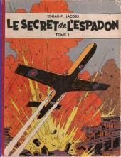 Blake et Mortimer (Historique) -1a55- Le Secret de l'Espadon - Tome I