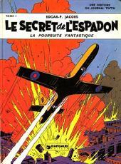 Blake et Mortimer (Historique) -1b77'- Le Secret de l'Espadon - Tome I - La Poursuite fantastique