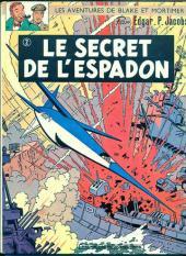 Blake et Mortimer (Historique) -2d70- Le Secret de l'Espadon 2
