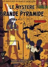 Blake et Mortimer (France Loisirs) -4- Le Mystère de la Grande Pyramide - Tome 1
