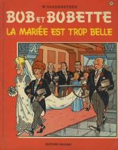 Bob et Bobette -92- La mariée est trop belle