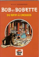Bob et Bobette (Publicitaire) -Piz1- Du rififi à Cnossos