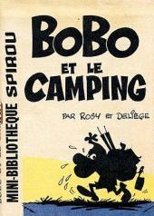 Bobo -MR1368- Bobo et le camping