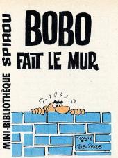 Bobo -MR1455- Bobo fait le mur