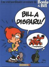 Boule et Bill -HS02a- Bill a disparu !