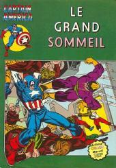 Captain America (1re série - Aredit - Artima Color Marvel Super Star) -10- Le grand sommeil