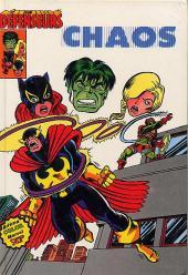 Albums Artima DC/Marvel Super Star -6- Les Défenseurs : Chaos