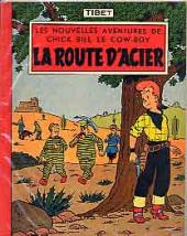 Chick Bill (collection du Lombard) -3- La route d'acier