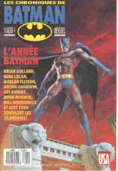 Batman (Les chroniques de) -4- L'année Batman