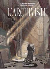 Les cités obscures -H02d09- L'archiviste
