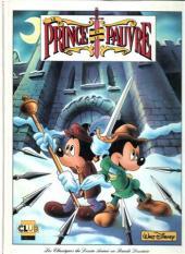 Les classiques du dessin animé en bande dessinée -3- Le Prince et le Pauvre