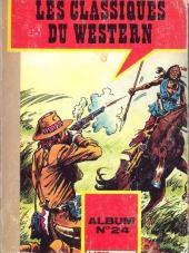 Les classiques du western -REC24- Album n°24 (Carabina Slim du n°146 au n°148)