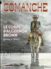 Comanche -10b1995- Le corps d'Algernon Brown
