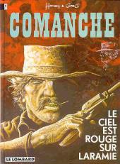 Comanche -4a93- Le ciel est rouge sur Laramie