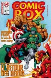 Comic box (1° série) -8TL- Comic Box 8 Couverture Heroes Return (2/2)